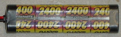 2400 Ni-Cd 8 éléments