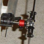 Bague de guidage du rotor arrière en alu